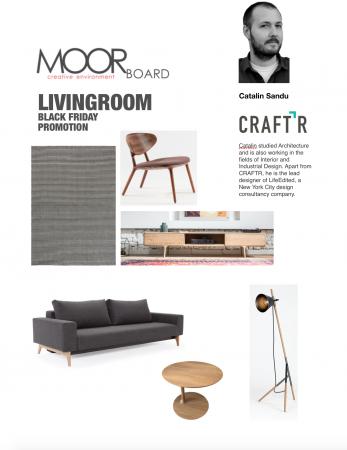 SET MOORboard LivingRoom  by Arh. Catalin Sandu CRAFTR0