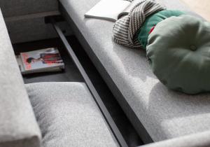 Canapea Extensibila cu depozitare TRIPI15