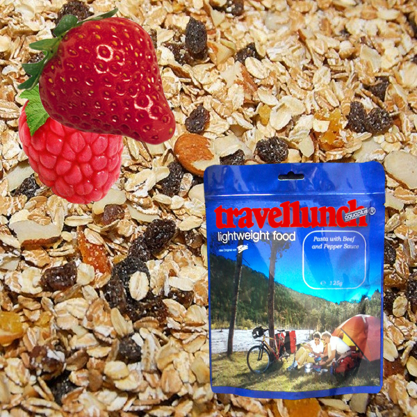 Aliment instant Travellunch Berry Muesli 125 g 50101 E [0]