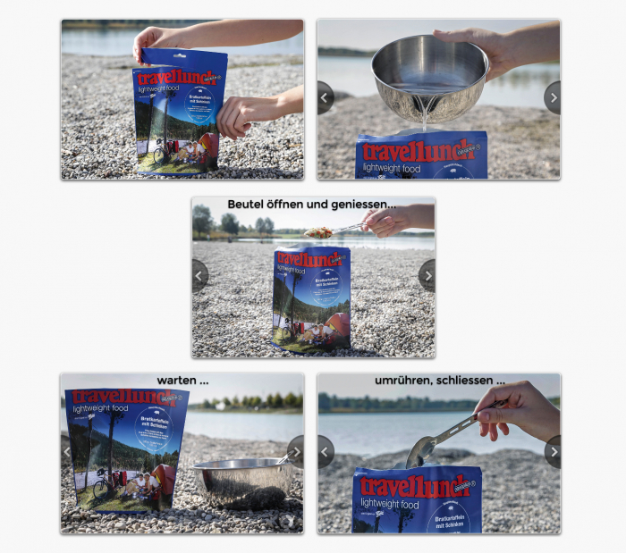 Aliment instant Travellunch Chilli con Carne 250g 50245 [1]