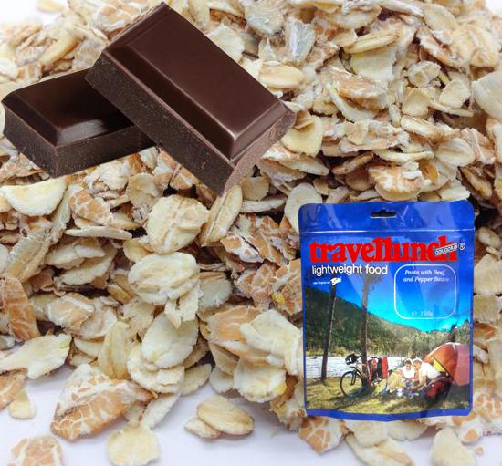 Aliment instant Travellunch Chocolate Muesli 50103E [0]