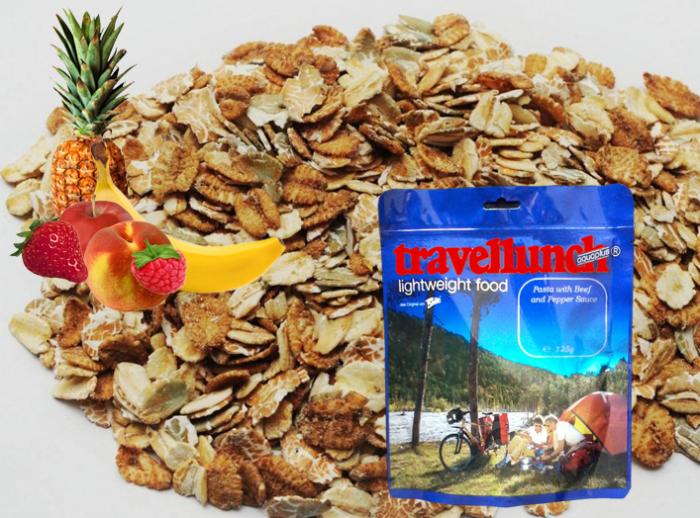 Aliment instant Travellunch Muesli cu fructe 125 g 501041 E [0]