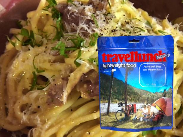 Aliment instant Travellunch Pasta Carbonara 250g 50228 E [0]