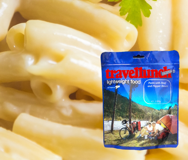 Aliment instant Travellunch Pasta in Cheese Sauce 250g 50227 E vegetarian, 2 portii [0]