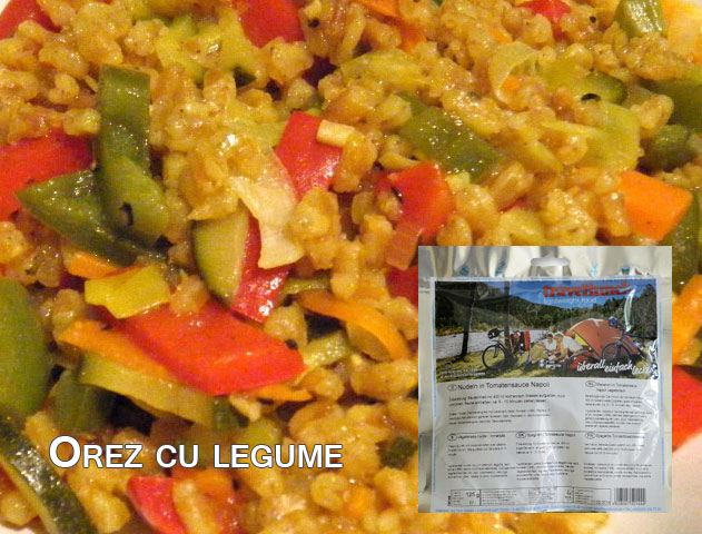 Aliment instant Travellunch Vegetable Risotto 50143 [0]