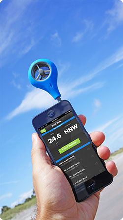 Anemometru smartphone WeatherFlow [1]