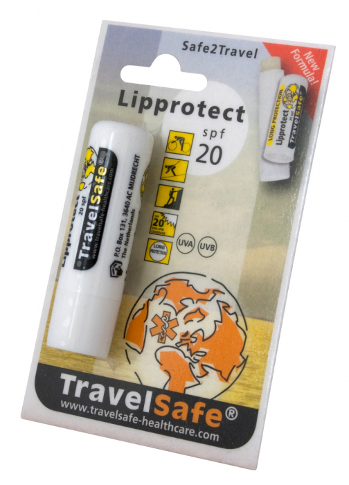 Balsam de buze Travelsafe Ultra SPF 20 TS98, cu protectie solara, 4.8g [1]