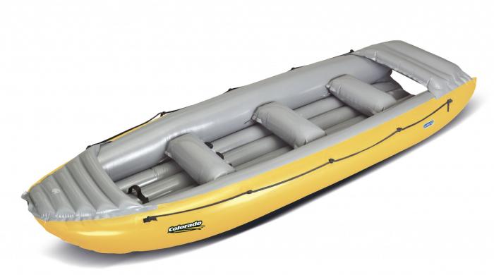 Barca pneumatica rafting  Gumotex Colorado 450, 6 persoane [4]