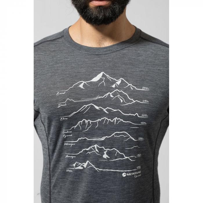 Bluza corp lana merino Montane Primino 140g 7 Summits [6]