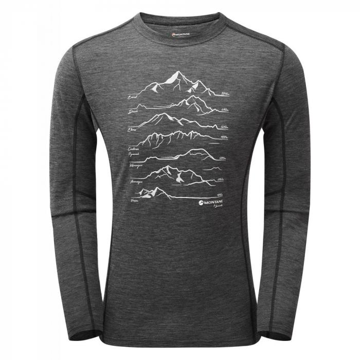 Bluza corp lana merino Montane Primino 140g 7 Summits [0]