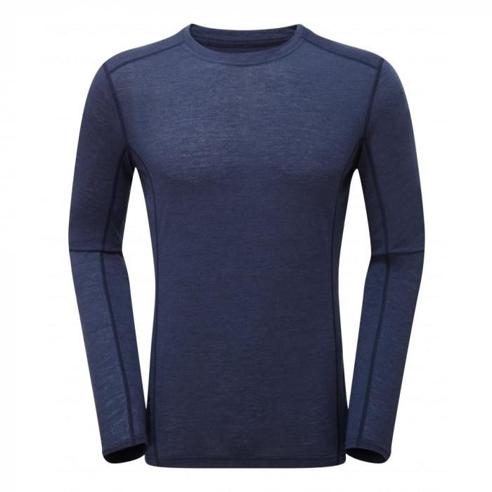 Bluza corp lana merino Montane Primino Crew 140g [0]