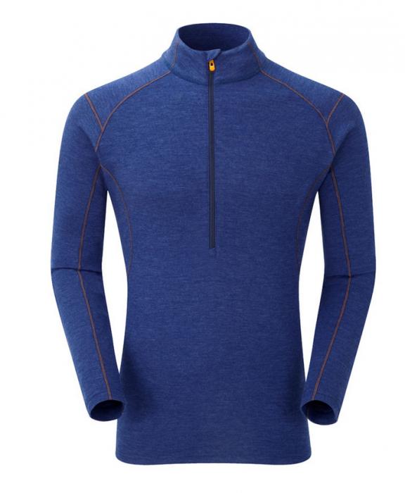 Bluza corp lana merino Montane Primino Zip 220 g [0]