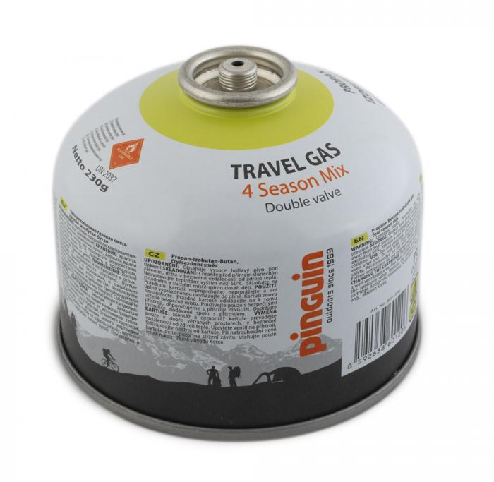 Butelie cu valva Pinguin Travel Gas 230g [0]