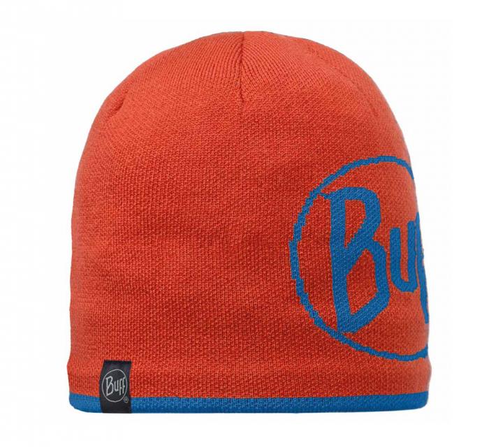 Caciula Buff Knitted&Polar Logo Orange [0]