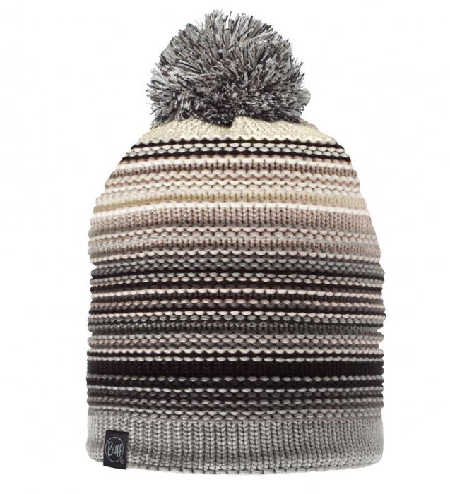 Caciula Buff Knitted&Polar Neper Grey [0]