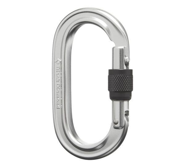 Carabiniera alpinism Black Diamond Oval keylock screwgate [4]