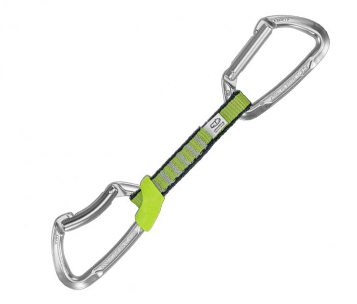 Climbing Technology Bucla echipata Lime Nylon Polished 12 cm [0]