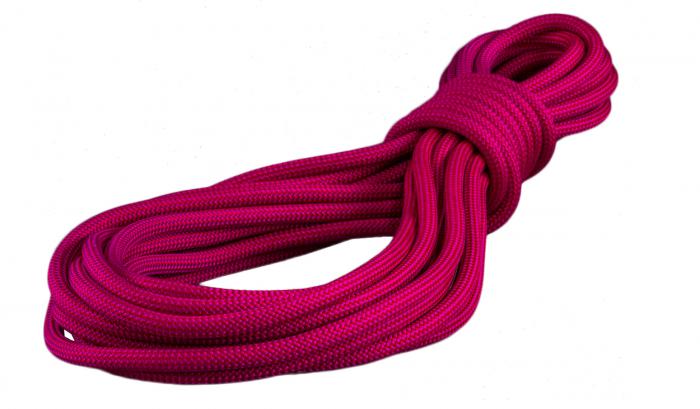 Coarda dinamica Gilmonte, Zilmont Raasta 10 mm, roz, vanzare la metru, pret pentru 1m [1]
