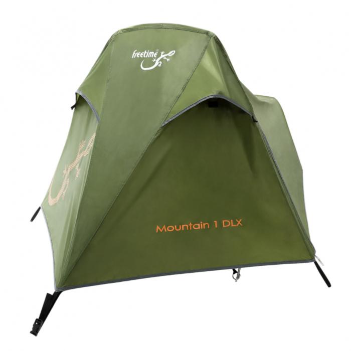Cort Freetime Mountain 1 DLX,1 persoana, verde [3]