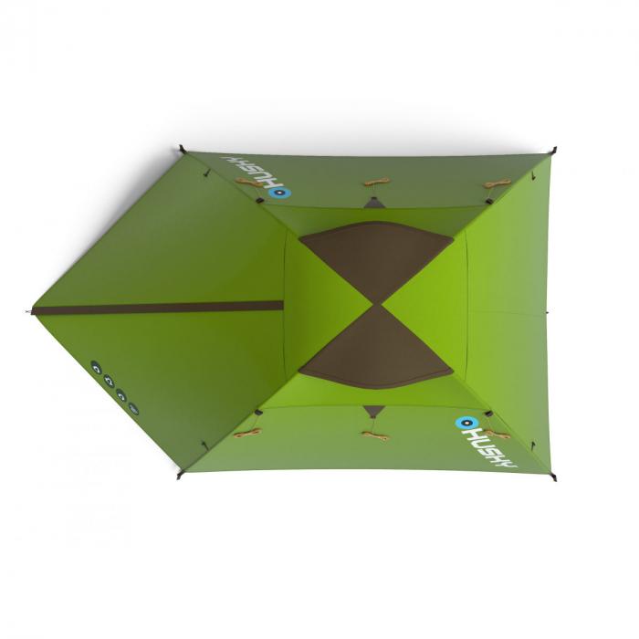 Cort Husky Bird 3-Verde-3 persoane [1]