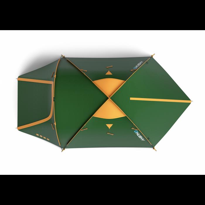 Cort Husky Bizon 4 Classic-Verde-4 persoane [2]