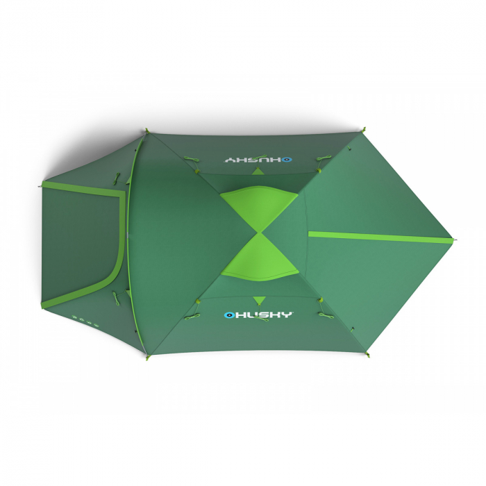 Cort Husky Bizon 4 Plus-Verde-4 persoane [1]