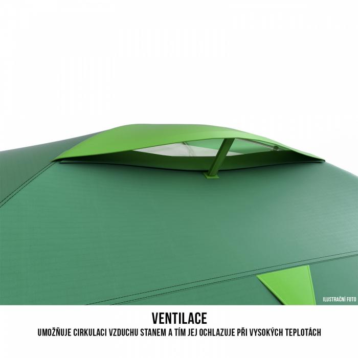 Cort Husky Bizon 4 Plus-Verde-4 persoane [6]