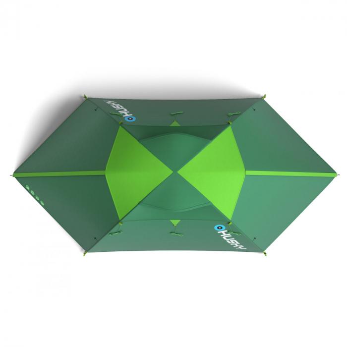 Cort Husky Boyard 4 Plus, verde, 4 persoane [1]