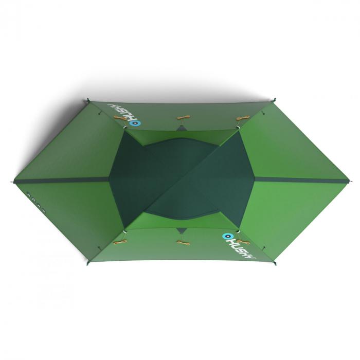 Cort Husky Bright 4-Verde-4 persoane 4