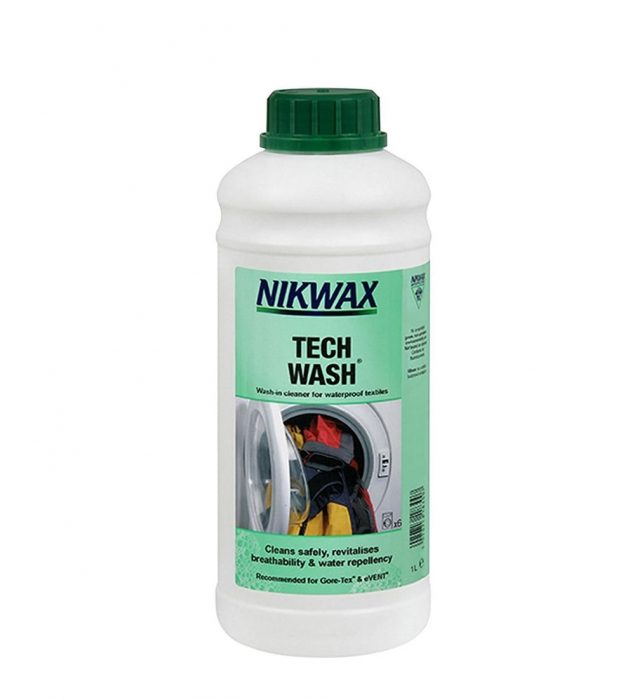 Detergent universal echipament Nikwax Tech Wash 1L [0]