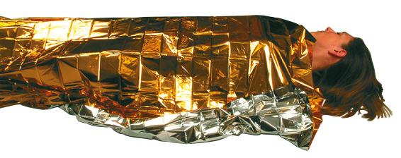 Folie supravietuire Travelsafe TS57, 210x160cm [2]