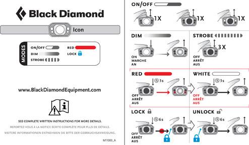 Frontala Black Diamond Icon Polar 320 lm [3]
