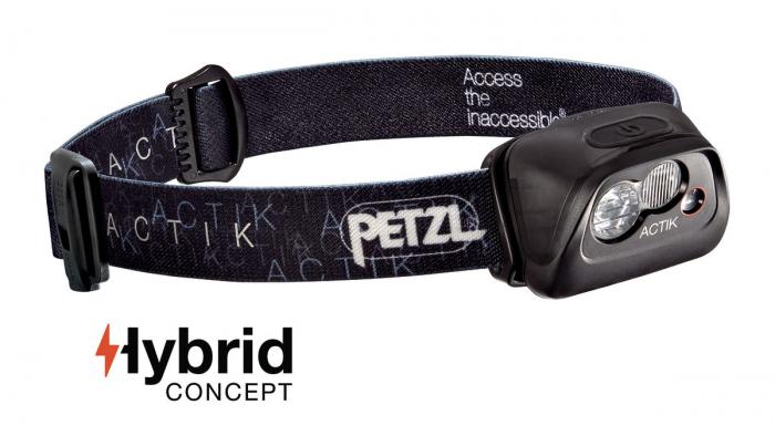 Frontala Petzl Actik Hybrid 300 lm black- Resigilat [0]