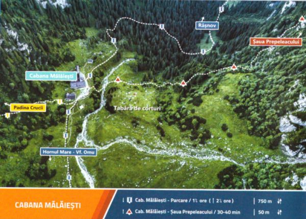 Ghid vizual Fly over mountains Muntii Bucegi [1]