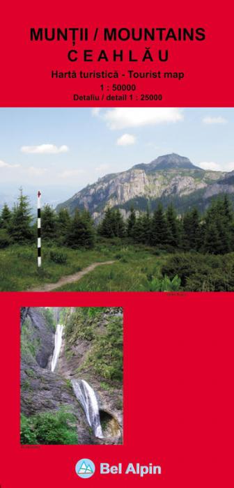 Harta Bel Alpin Masivul Ceahlau 0