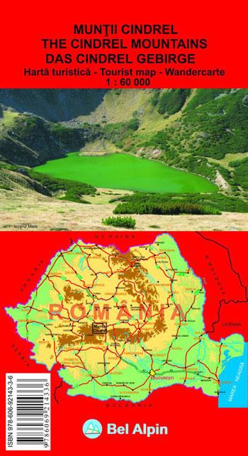 Harta Bel Alpin Muntii Cindrel 0