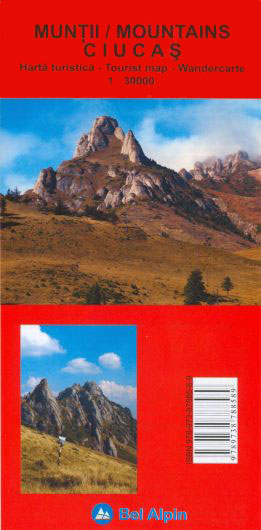 Harta Bel Alpin Muntii Ciucas 0