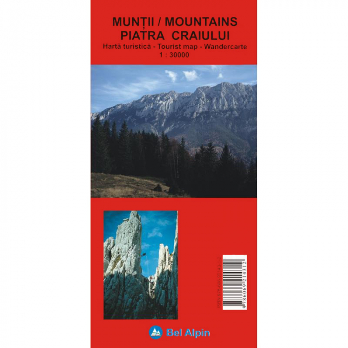 Harta Bel Alpin Muntii Piatra Craiului [0]