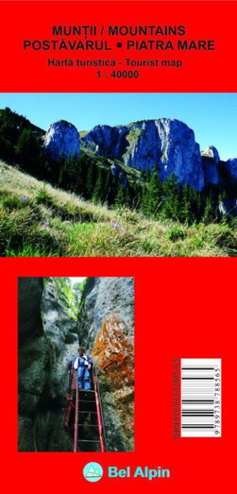 Harta Bel Alpin Muntii Postavarul si Piatra Mare 0