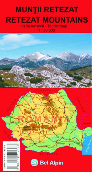 Harta Bel Alpin Muntii Retezat [0]
