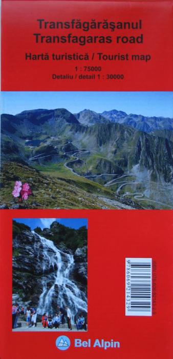 Harta Bel Alpin Transfagarasanul 0