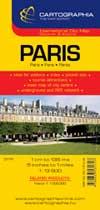 Harta Cartographia Paris 1