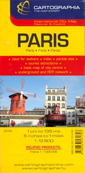 Harta Cartographia Paris 0