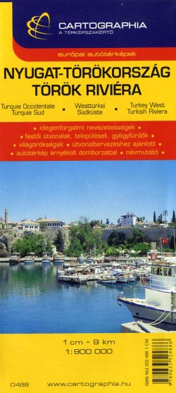 Harta Cartographia Turcia Occidentala [0]