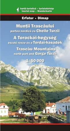 Harta Dimap Muntii Trascaului cu Cheile Turzii (Nord) 0