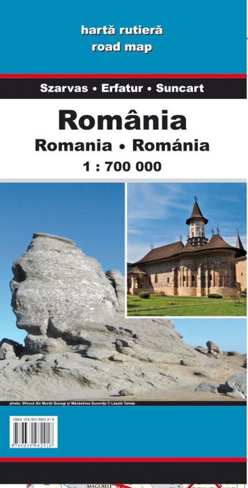 Harta Dimap Rutiera a Romaniei 0