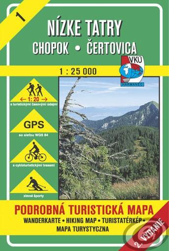 Harta Harmanec Muntii Tatra Mica (Nízke) [0]
