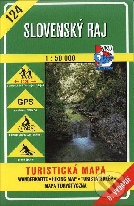 Harta Harmanec Paradisul Slovac (Slovensky Raj) [0]