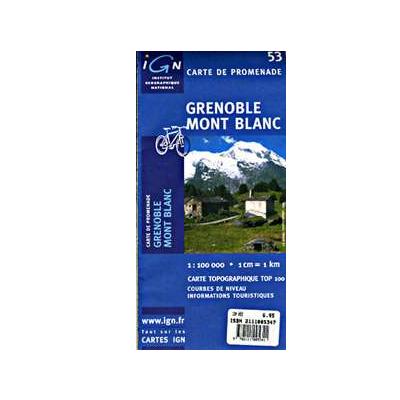 Harta IGC Grenoble Mont Blanc [0]