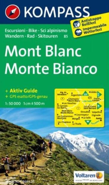 Harta Kompass Mont Blanc [0]